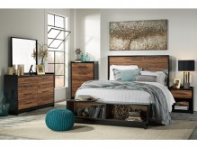 Ashley Stavani 5pc Queen Storage Bedroom Group Available Online in Dallas Fort Worth Texas