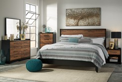 Ashley Stavani 5pc King Panel Bedroom Group Available Online in Dallas Fort Worth Texas