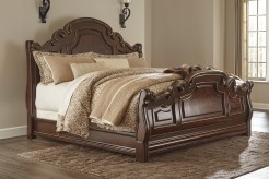 Ashley Florentown Queen Sleigh Bed Available Online in Dallas Fort Worth Texas