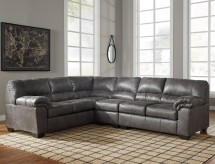 Bladen 3pc Slate Left Arm Facing Sofa Sectional Available Online in Dallas Fort Worth Texas