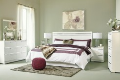 Ashley Brillaney 5pc King Panel Bedroom Group Available Online in Dallas Fort Worth Texas