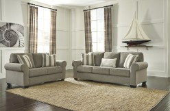 Ashley Baveria 2pc Grey Sofa & Loveseat Set Available Online in Dallas Fort Worth Texas