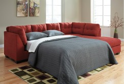 Maier 2pc Left Arm Facing Sleeper Sofa Sectional Available Online in Dallas Fort Worth Texas