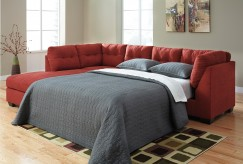 Maier 2pc Right Arm Facing Sleeper Sofa Sectional Available Online in Dallas Fort Worth Texas