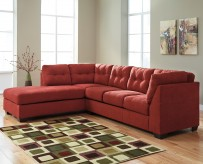 Maier 2pc Left Arm Facing Chaise Sectional Available Online in Dallas Fort Worth Texas