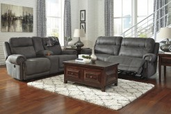 Austere 2pc Grey Power Sofa & Loveseat Set Available Online in Dallas Fort Worth Texas