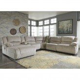 Toletta 6pc Left Arm Facing Chaise Sectional Available Online in Dallas Fort Worth Texas
