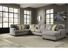Cresson 4pc Left Arm Facing Loveseat Sectional Available Online in Dallas Fort Worth Texas