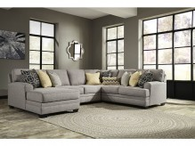 Cresson 4pc Left Arm Facing Chaise Sectional Available Online in Dallas Fort Worth Texas