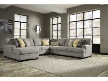 Cresson 5pc Left Arm Facing Chaise Sectional Available Online in Dallas Fort Worth Texas