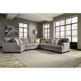 Cresson 5pc Left Arm Facing Cuddler Sectional Available Online in Dallas Fort Worth Texas