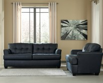 Ashley Inmon 2pc Black Sofa & Loveseat Set Available Online in Dallas Fort Worth Texas