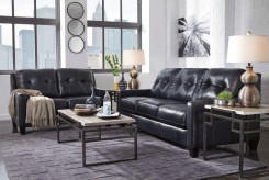 Ashley O'Kean 2pc Navy Sofa & Loveseat Set Available Online in Dallas Fort Worth Texas