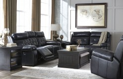 Ashley Graford Navy 2pc Sofa & Loveseat Set Available Online in Dallas Fort Worth Texas