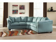 Darcy 2pc Sectional Available Online in Dallas Fort Worth Texas