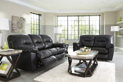 Ashley Kilzer DuraBlend 2pc Black Sofa & Loveseat Set Available Online in Dallas Fort Worth Texas