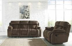Ashley Stricklin 2pc Chocolate Sofa & Loveseat Set Available Online in Dallas Fort Worth Texas