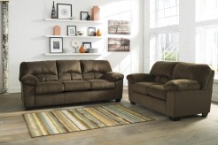 Dailey 2pc Chocolate Sofa & Loveseat Set Available Online in Dallas Fort Worth Texas