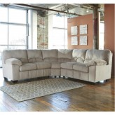 Ashley Dailey 2pc Alloy Sectional Available Online in Dallas Fort Worth Texas