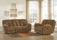 Ashley Hector 2pc Caramel Sofa & Loveseat Set Available Online in Dallas Fort Worth Texas