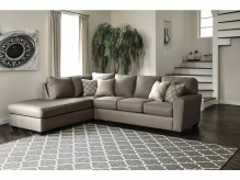 Calicho 2pc Left Arm Facing Corner Chaise Sectional Available Online in Dallas Fort Worth Texas