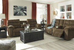 Ashley Antwan Truffle 2pc Sofa & Loveseat Set Available Online in Dallas Fort Worth Texas