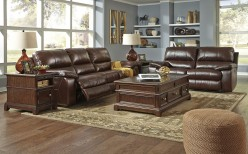 Ashley Transister Coffee 2pc Sofa & Loveseat Set Available Online in Dallas Fort Worth Texas