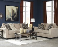 Ashley Wixon 2pc Putty Sofa & Loveseat Set Available Online in Dallas Fort Worth Texas