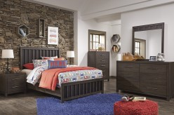 Ashley Bissley 5pc Full Panel Bedroom Group Available Online in Dallas Fort Worth Texas