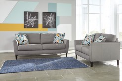 Ashley Pelsor 2pc Grey Sofa & Loveseat Set Available Online in Dallas Fort Worth Texas