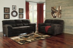 Ashley Zorah 2pc Chocolate Sofa & Loveseat Set Available Online in Dallas Fort Worth Texas