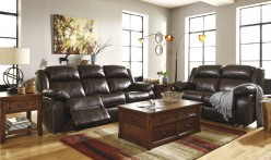 Ashley Branton 2pc Power Reclining Sofa & Loveseat Set Available Online in Dallas Fort Worth Texas