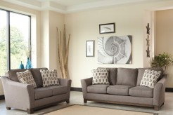Ashley Alara Slate 2pc Sofa & Loveseat Set Available Online in Dallas Fort Worth Texas