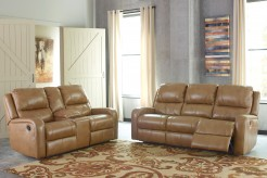 Ashley Roogan 2pc Blondie Reclining Sofa & Loveseat Set Available Online in Dallas Fort Worth Texas