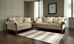 Ashley Berwyn View Quartz 2pc Sofa & Loveseat Set Available Online in Dallas Fort Worth Texas