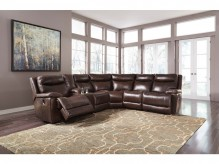 Ashley Zaiden 6pc Antique Recli... Available Online in Dallas Fort Worth Texas