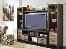 Ashley Harlinton 4pc Wall Unit Available Online in Dallas Fort Worth Texas