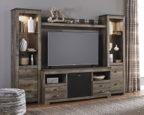 Trinell 4pc Entertainment Center Available Online in Dallas Fort Worth Texas