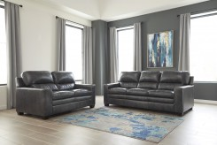 Ashley Gleason 2pc Charcoal Sofa & Loveseat Set Available Online in Dallas Fort Worth Texas