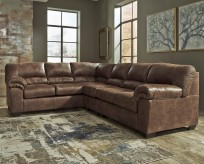 Bladen 3pc Coffee Left Arm Facing Sofa Sectional Available Online in Dallas Fort Worth Texas
