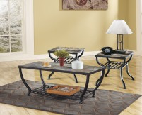 Ashley Antigo Black 3pc Coffee Table Set Available Online in Dallas Fort Worth Texas