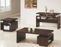 Coaster Fenella 3pc Brown Coffee Table Set Available Online in Dallas Fort Worth Texas