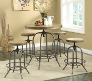 Coaster Taldara 5pc Dining Table Set Available Online in Dallas Fort Worth Texas