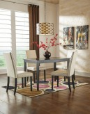 Ashley Kimonte 5pc Dark Brown Dining Room Set Available Online in Dallas Fort Worth Texas