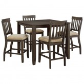 Ashley Dresbar 5pc Brown Counter Height Dining Room Set Available Online in Dallas Fort Worth Texas