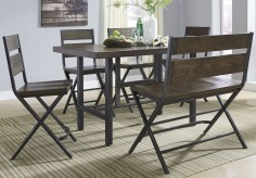 Ashley Kavara 6pc Medium Brown Counter Height Dining Room Set Available Online in Dallas Fort Worth Texas