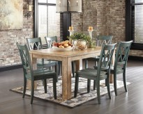 Ashley Mestler 7pc Oak Dining Room Set Available Online in Dallas Fort Worth Texas