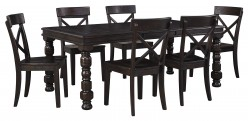 Ashley Gerlane 7pc Dark Brown Dining Room Set Available Online in Dallas Fort Worth Texas