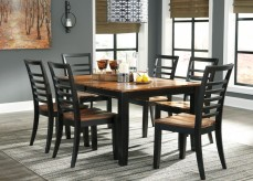 Ashley Quinley 7pc Dining Room Set Available Online in Dallas Fort Worth Texas