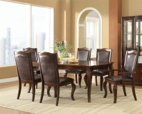 Coaster Louanna 7pc Espresso Dining Table Set Available Online in Dallas Fort Worth Texas